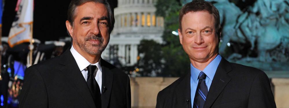 Joe Mantegna and Gary Sinise