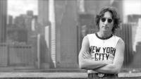 John Lennon wearing New York City Shirt