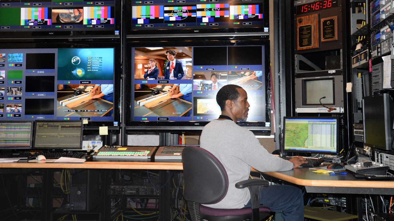 Derwin Ivory in Master Control