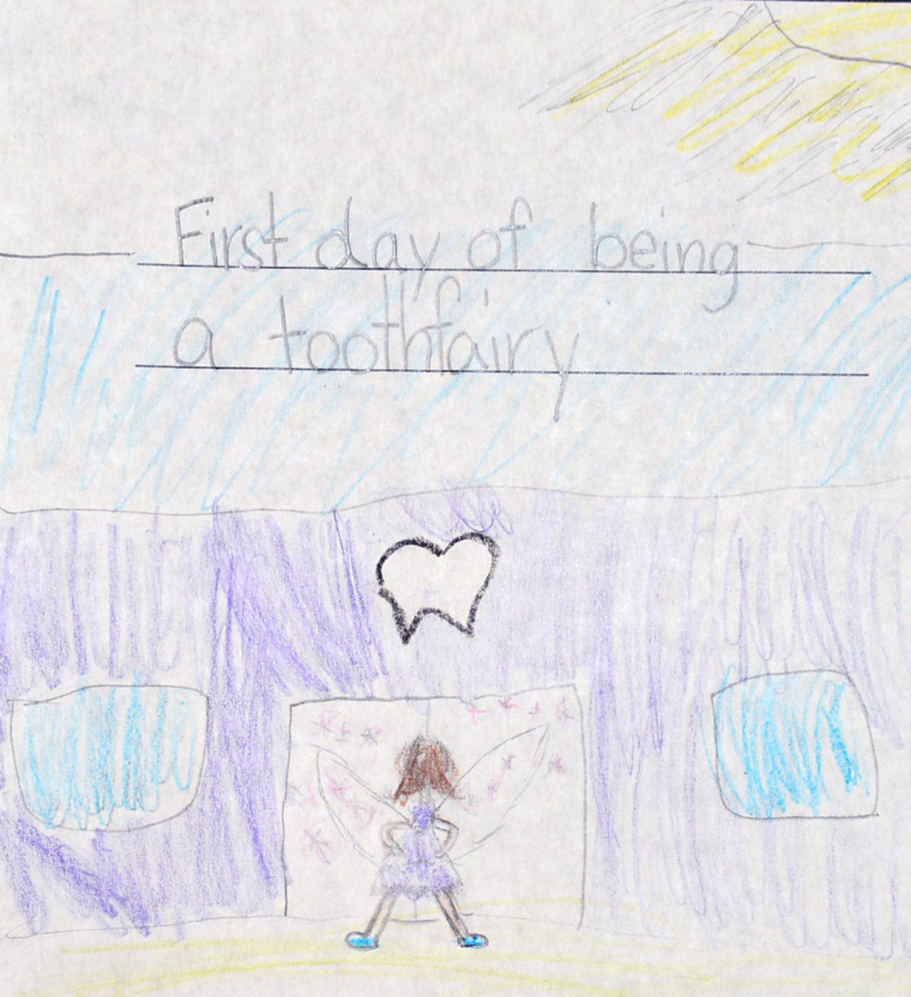 AETN PBS KIDS Writers Contest 2nd Grade 3rd First Day of Being a Tooth Fairy