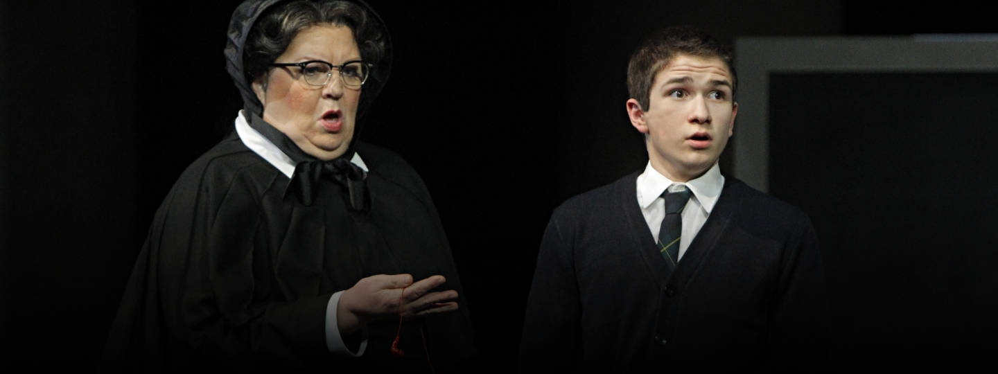 Christine Brewer as Sister Aloysius Beauvier, the school principal in Minnesota Opera's Doubt.