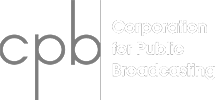 The Corporation for Public Broadcasting logo
