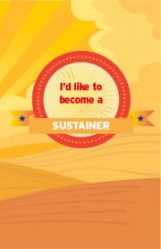 Become an AETN Sustainer