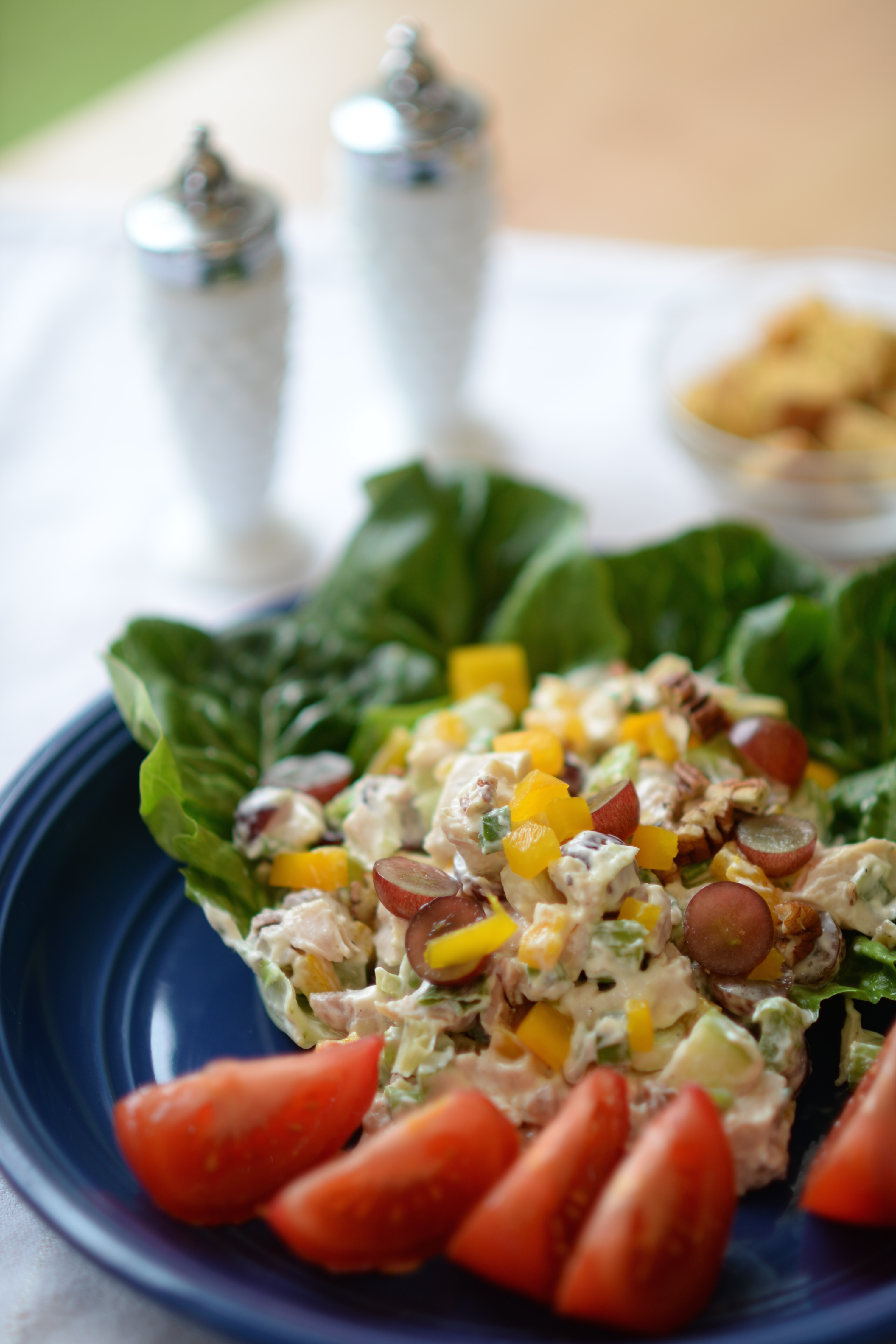 Cooking on the Wild Side Roasted Chicken Salad