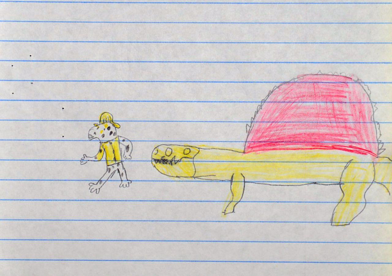 AETN PBS KIDS Writers Contest First Grade Third The Adventurous Dog