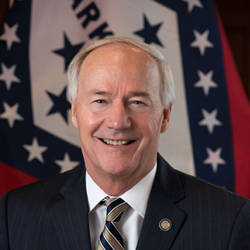 Portrait Photo of Asa Hutchinson