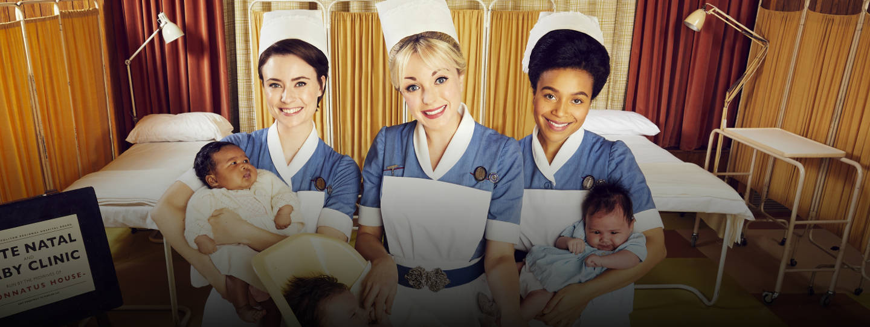 Nurse Valerie Dyer, Nurse Trixie Franklin, Nurse Lucille Anderson