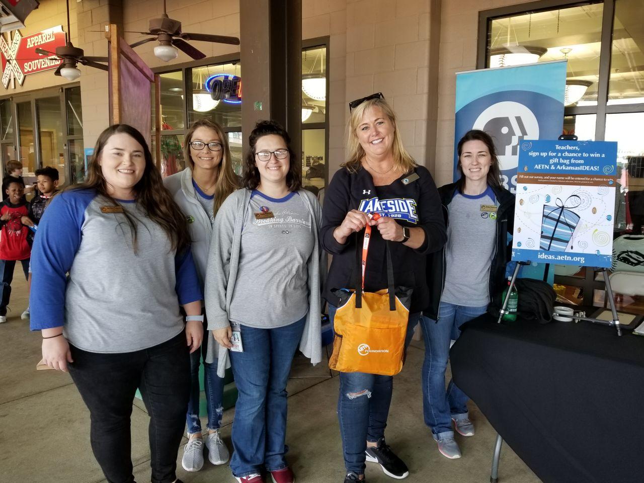 ArkansasIDEAS Door Prize Winner 2