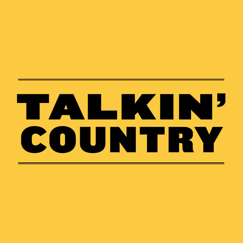 Talkin' Country Title Graphic