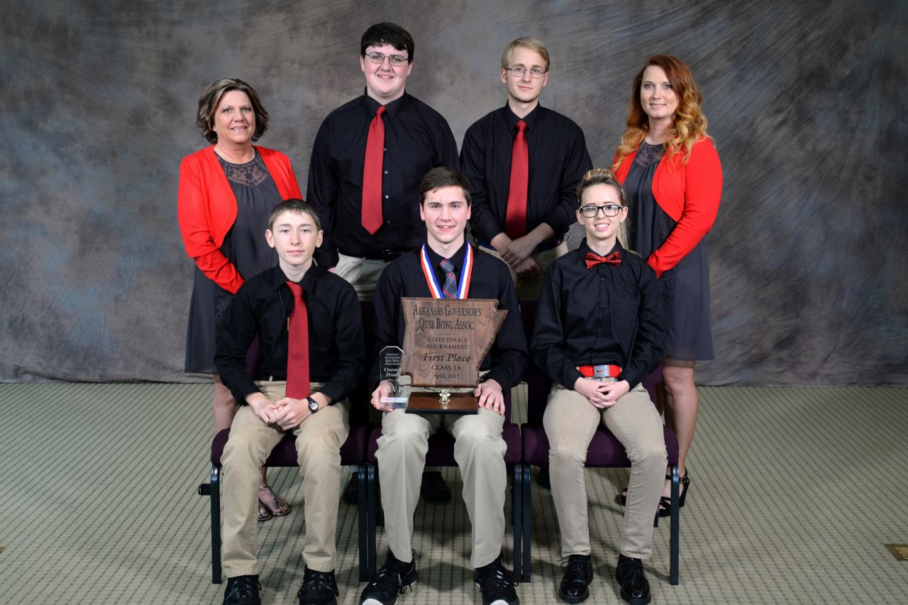 Norfork 1A Quiz Bowl Champs 2017