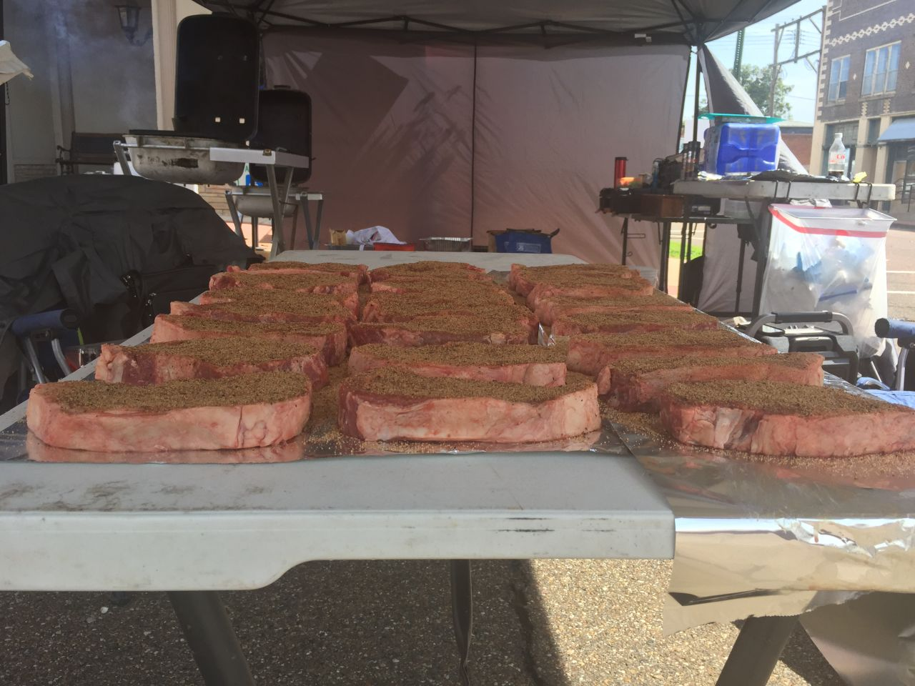 Exploring Arkansas Magnolia World Championship Steak Cook Off