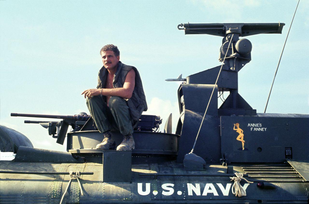 Vietnam War Bruce Wesson Gunner About Hovercraft Annie's Fanny