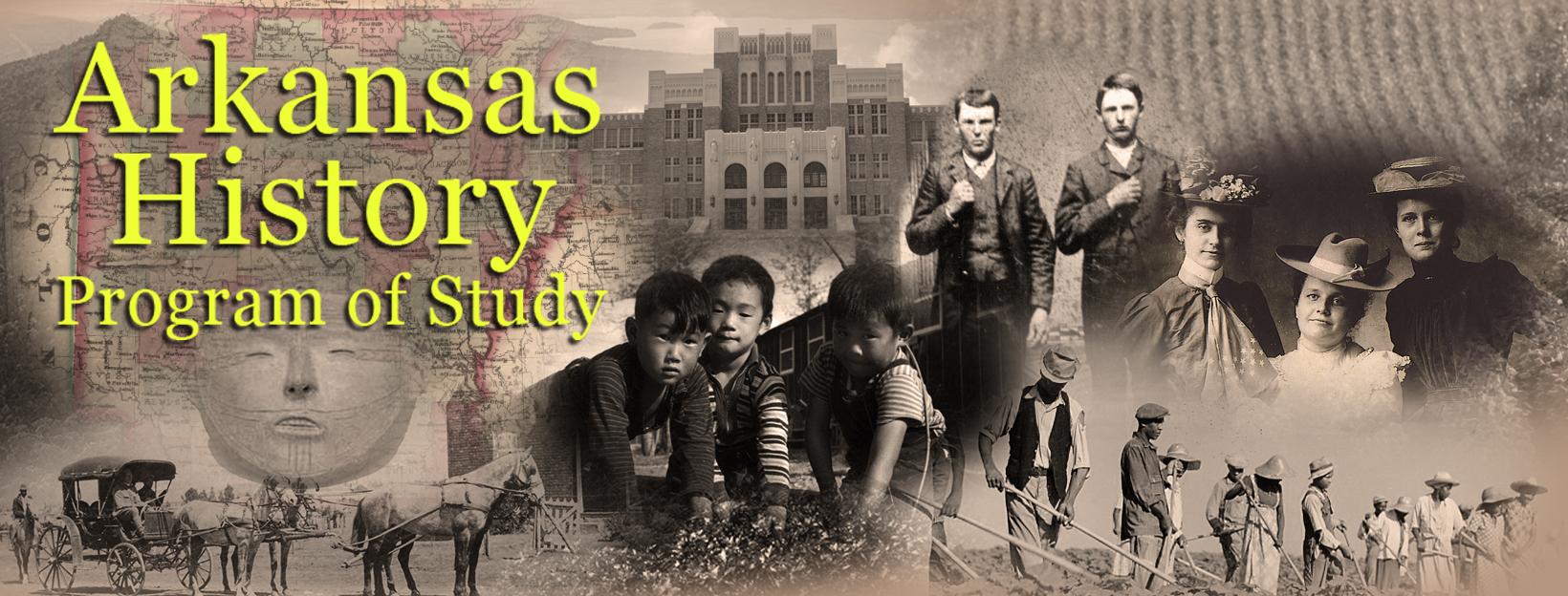 Arkansas History Program of Study Banner